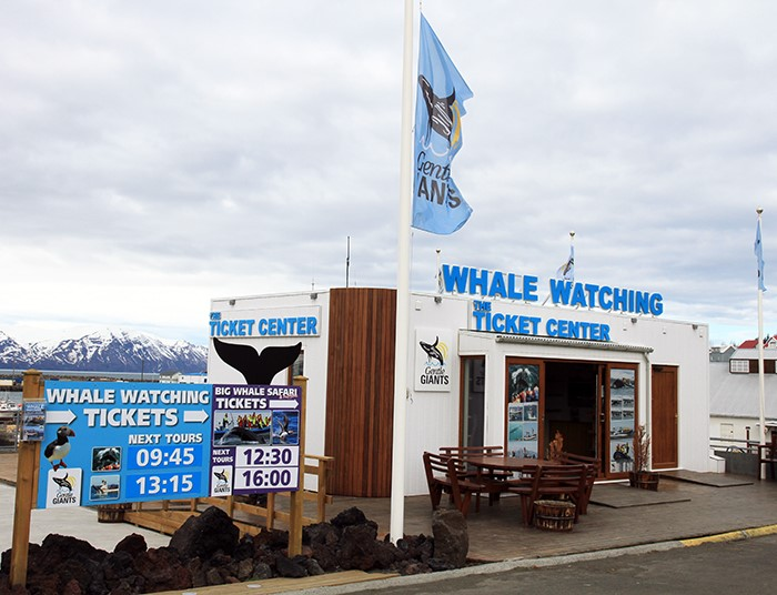Húsavík Whale Watching Ticket Center